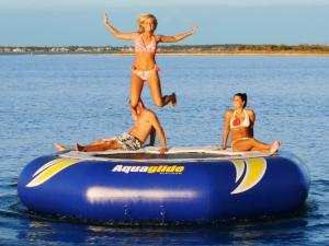 Aquaglide Super Tramp 14, 17 & 23 Water Trampoline