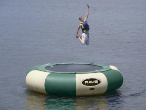 Rave Aqua Jump Eclipse Water Trampoline Northwoods