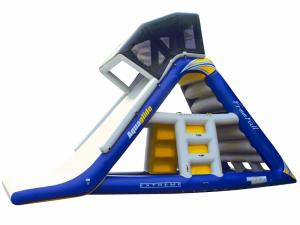 Aquaglide Freefall Supreme Water Slide and Climber