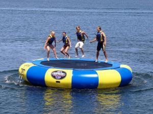 Rave Aqua Jump Eclipse Water Trampoline