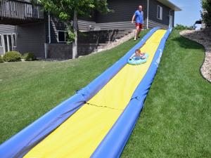 Rave Turbo Chute Backyard Package